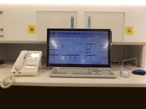 ナースコールデスクトップ型親機